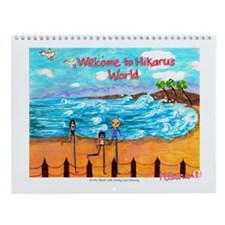 Hikaru's World Wall Calendar - At the Beach