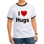 I Love Hugs Ringer T
