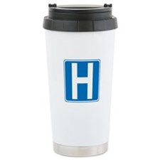 Hospital Sign Ceramic Travel Mug