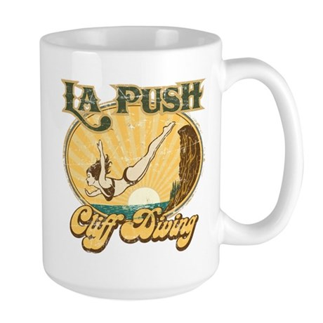 La Push Cliff Diving Large Mug