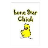 Lone Star Chick Postcards (Package of 8)