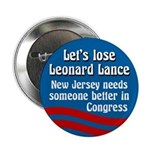 Let's Lose Leonard Lance campaign button