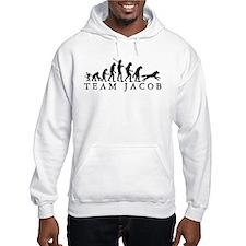 Team Jacob Werewolf Evolution Hooded Sweatshirt