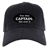 I'M THE CAPTAIN. GET OVER IT  Baseball-Mütze
