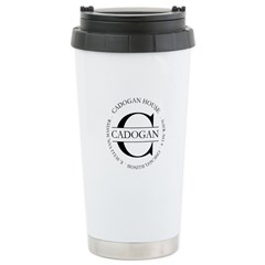 Ceramic Travel Mug with Official Cadogan seal