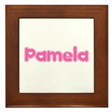 &quot;Pamela&quot; Framed Tile