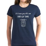 the END OF TIME Tee