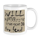 Homeless History Major Small Mug