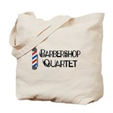 Barbershop Quartet Tote Bag