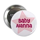 "Baby Alanna 2.25"" Button (10 pack)"