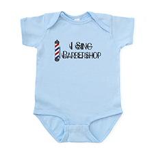 I Sing Barbershop Infant Bodysuit
