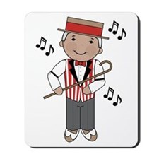 Little Barbershop Singer Mousepad