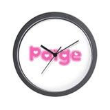 """Paige"" Wall Clock"