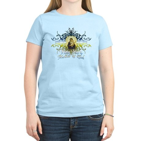"""Holy Mary, Mother of God"" Women's Light T-Shirt"