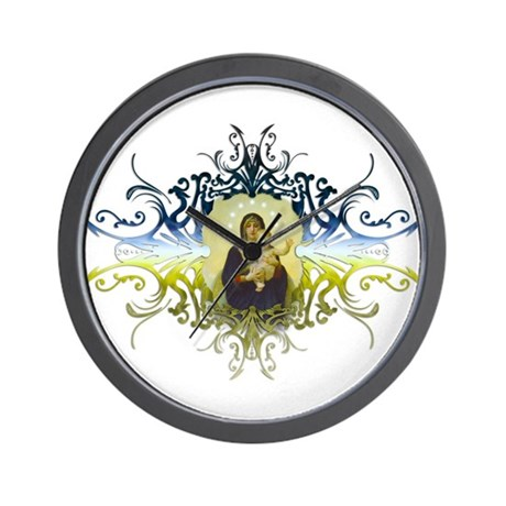"""Holy Mary, Mother of God"" Wall Clock"