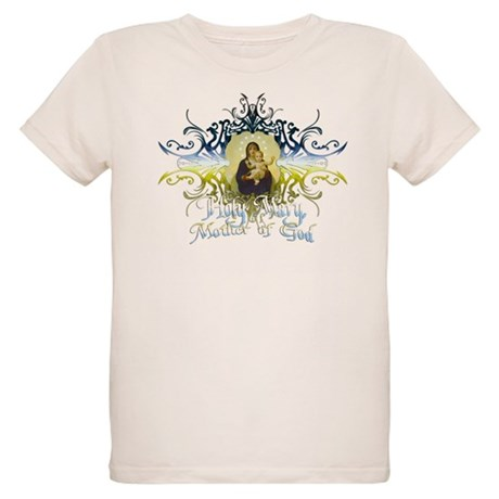 """Holy Mary, Mother of God"" Organic Kids T-Shirt"