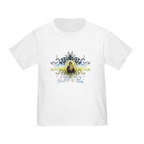"""Holy Mary, Mother of God"" Toddler T-Shirt"