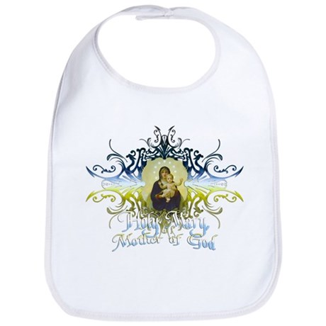 """Holy Mary, Mother of God"" Bib"