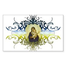 """Holy Mary, Mother of God"" Rectangle Sticker 10 p"