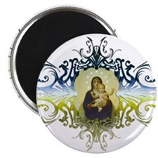 """""""Holy Mary, Mother of God"""" 2.25"""" Magnet (10 pack)"""