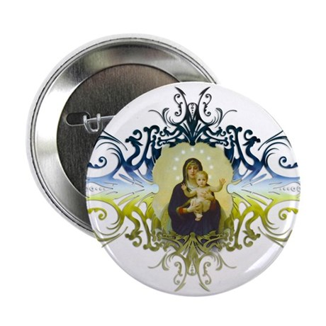 """Holy Mary, Mother of God"" 2.25"" Button (10 pack)"