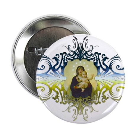 """Holy Mary, Mother of God"" 2.25"" Button"