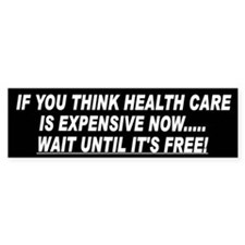 Health Care Bumper Bumper Sticker