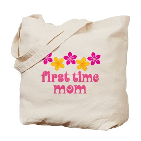 Cute First Time Mom Tote Bag