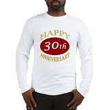 Happy 30th Anniversary Long Sleeve T-Shirt