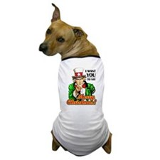 Uncle Sam - I Want You to say Dog T-Shirt