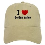 I Love Golden Valley Baseball Cap