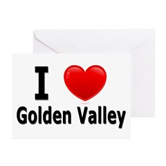 I Love Golden Valley Greeting Cards (Pk of 20)