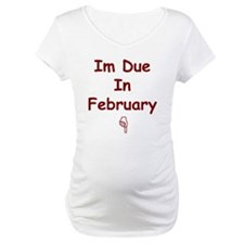 Cute February due date Shirt