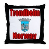 Trondheim Throw Pillow