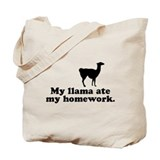 Funny Llama Tote Bag