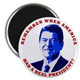 """Remember When..."" Reagan Magnet"