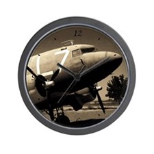 C-47 Sepia Wall Clock