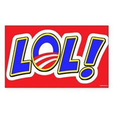LOL! Rectangle Decal