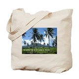 Funny St. kitts Tote Bag