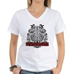 Women's V-Neck Barcelona T-Shirt