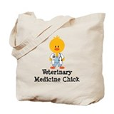 Veterinary Medicine Chick Tote Bag