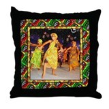African christmas Throw Pillow