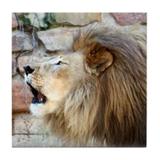 Lion Roar Tile Coaster
