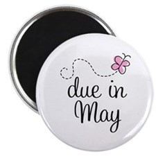 May Maternity Due Date Magnet