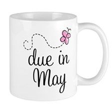 May Maternity Due Date Mug