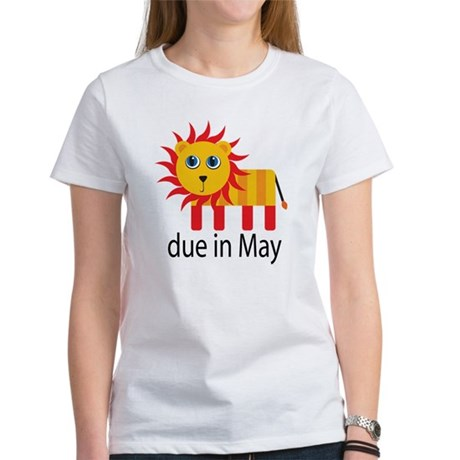 May Lion Due Date Women's T-Shirt