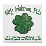 Gay Irishmen Pub  Beer Coaster