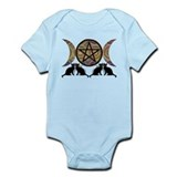 Crystal Ball Pentagram Onesie