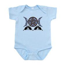 Mystic Blue Pentagram Infant Bodysuit