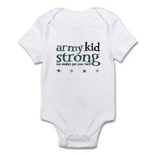 Army Kid Strong - Dad Infant Bodysuit